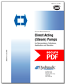 Direct Acting Pumps (ANSI/HI 8.1-8.5-2015 - secure PDF)
