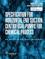 ASME B73.1 - 2001 Specification for Horizontal End Suction Centrifugal Pumps for Chemical Process (Secure PDF)