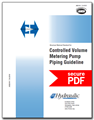 Controlled Volume Metering Pump Piping Guideline (ANSI/HI 7.8-2016 - secure PDF)