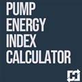 Pump Energy Index Calculator Tool (Version 1.2)