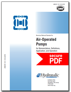 Air-Operated Pumps (ANSI/HI 10.1-10.5-2016 - secure PDF)