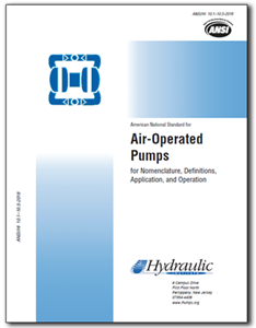Air-Operated Pumps (ANSI/HI 10.1-10.5-2016)
