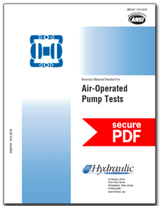 Air-Operated Pump Tests (ANSI/HI 10.6-2016 - secure PDF)