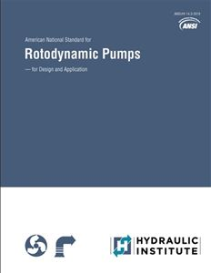 Rotodynamic Pumps for Design and Application (ANSI/HI 14.3-2019)