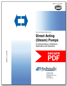 Direct Acting Pumps (ANSI/HI 8.1-8.5-2015 - secure PDF).