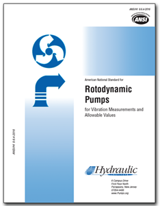 Rotodynamic Pumps for Vibration Measurement and Allowable Values (ANSI/HI 9.6.4-2016)