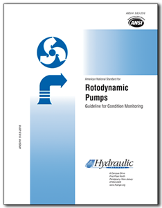 Rotodynamic Pumps Guideline for Condition Monitoring (ANSI/HI 9.6.5-2016).