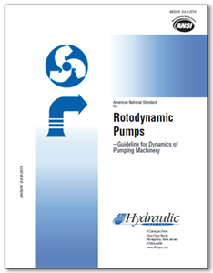 Rotodynamic Pumps – Guideline for Dynamics of Pumping Machinery (ANSI/HI 9.6.8-2014).