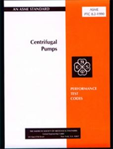 ASME PTC 8.2 - 1990 Centrifugal Pumps (Secure PDF)