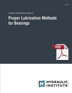 Proper Lubrication Methods for Bearings White Paper - 2019 (PDF Download)
