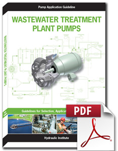 Wastewater Treatment Plant Pumps: Guidelines for Selection, Application, and Operation (Secure PDF)