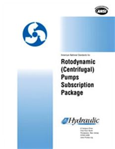Web-based Standards Subscription Package 1: Rotodynamic (Centrifugal) Pumps